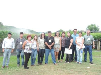 Curso de Produção de Mudas Nativas com a equipe da CEMIG no Viveiro de Mudas Nordesta